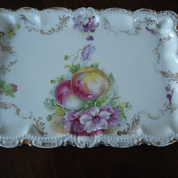 Bavarian China Platter - China and Dinnerware