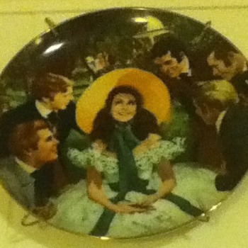 """Gone With The Wind"" Plate - Movies"