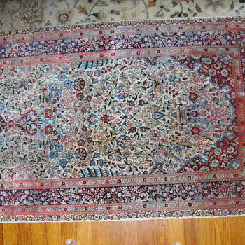 19th Cenntury Silk Prayer Rug  - Rugs and Textiles