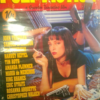 Pulp Fiction Poster - Movies