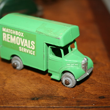 Matchbox removal service truck toy - Toys