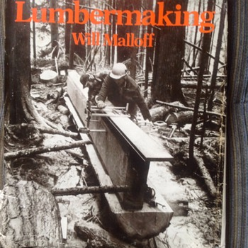 Chainsaw lumber making!   - Books