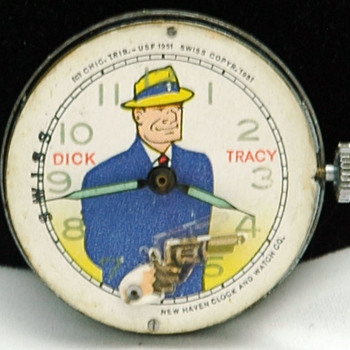New Haven Dick Tracy Watch - Wristwatches