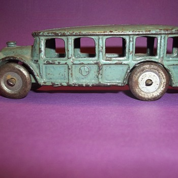 VINTAGE HUBLEY  TOY BUS