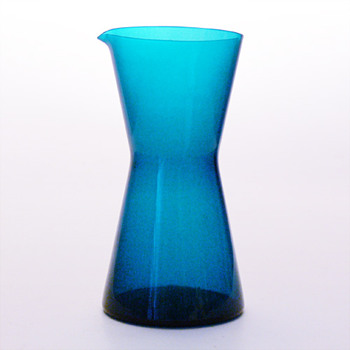 Cocktail mixer, Gunnar Ander (Lindshammar, 1950s) - Art Glass