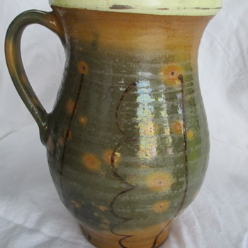 Very old Redwear/Slipware  jug/pitcher lead glaze