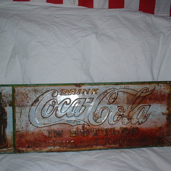 1930's Coke Sign - Coca-Cola