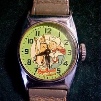 1951 Ingraham Roy Rogers - Wristwatches
