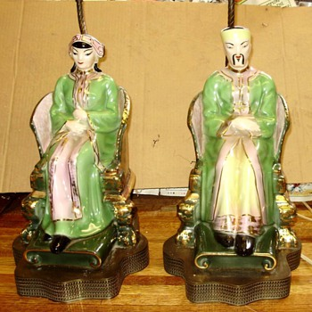 Vintage Figure Table lamps - Lamps