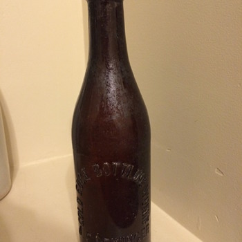 J F Denninger c1890's beer bottle