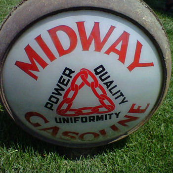 Midway Gas Globes - Petroliana