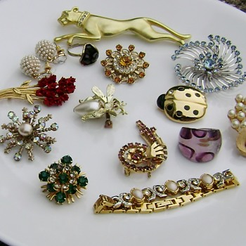 Mixed Jewelry - Unsigned - Costume Jewelry