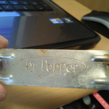 Dr Pepper bottle opener - Advertising