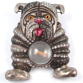 BIG Bulldog !! - Costume Jewelry