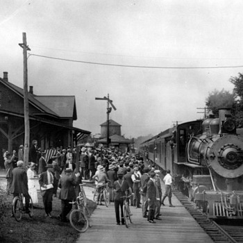 Old Patchogue Railroad Photos - Photographs