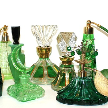 Today is my Green Scene - It's not easy being GREEN! :) - Bottles