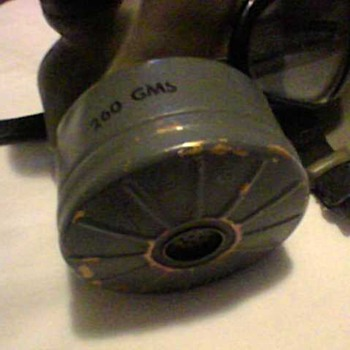A GAS OF A MASK - Military and Wartime