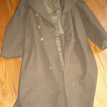 Trench Coat Worn by KIA Soldier