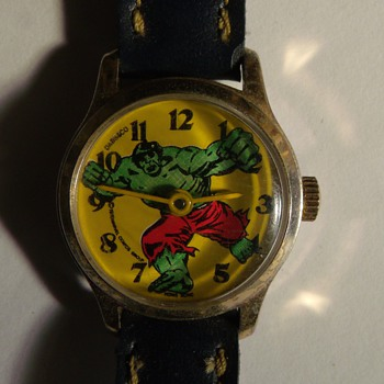 "1978 Dabs & Co. ""Hulk"" Wrist Watch - Wristwatches"