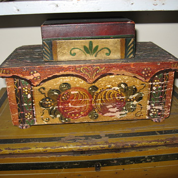 Information on painted boxes - Folk Art