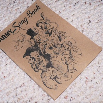 1941 Military Songbook