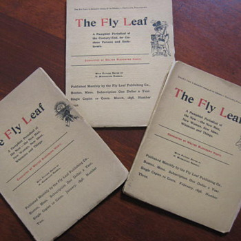 The Fly Leaf ..Fly leaf Publishing Co. Boston Mass.