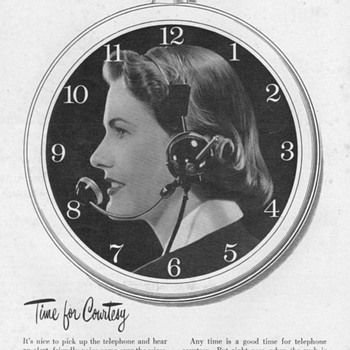 1952 - Bell Telephone Advertisement