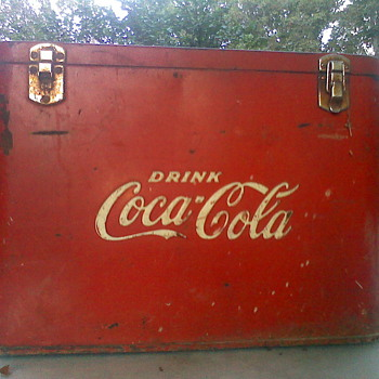 Need Info on cooler - Coca-Cola