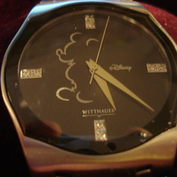 Wittnauer Diamond face Mickey - Wristwatches
