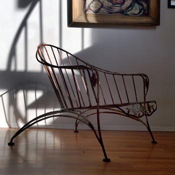 Mid Century Modern Garden Chair - Great Legs - Mid-Century Modern