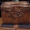 Brass & Wood Magazine Box