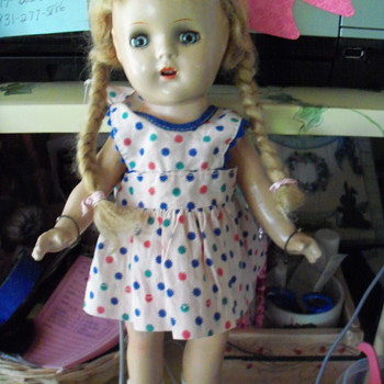 MY NEW DOLL; IS SHE WHO SHE SAYS SHE IS?????