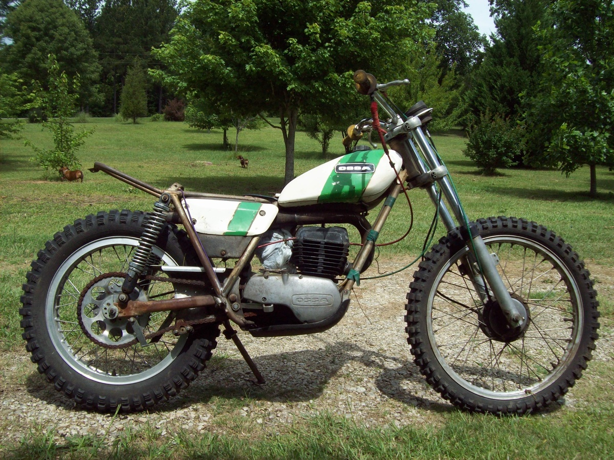 Vintage Trials Bike 108