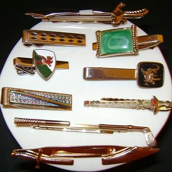 Vintage Tie Clips - Accessories
