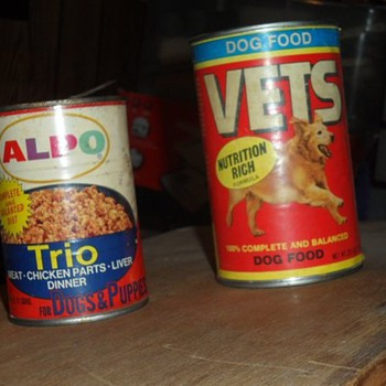 vets dog food cans