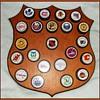1980's -- NHL PUCK DISPLAY ( Texaco )