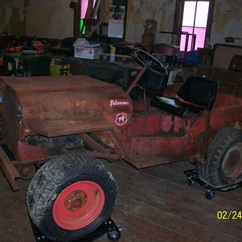 1968 Roof Palomino  Mini Jeep Mower
