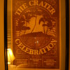 Crater Celebration Poster from 7/4/1975