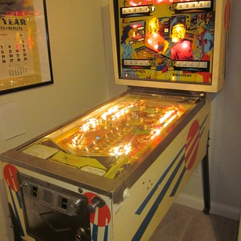 "1971 Bally ""Champ"" Pinball Machine"