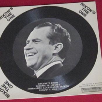 1968 Political Campaign Recording - Records