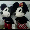 vintage Mickey and Minnie mouse set