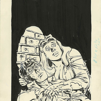 The Spirit #76 Original Cover Art by Will Eisner