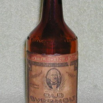 Old Overholt Bottle
