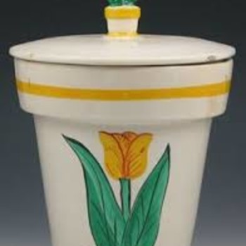 Tulip (Flowerpot) jar - Pottery