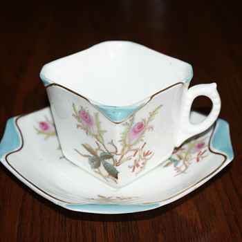 Old English Tea Cup with Victorian Registration Mark -1878? - China and Dinnerware