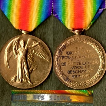 Four More WWI Victory Medals - Military and Wartime