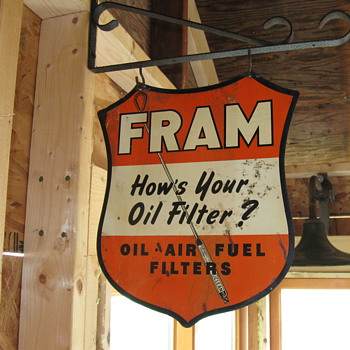 WOW! what a Fram sign! - Petroliana
