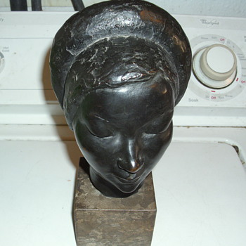 very old bronze statue, no marking on it looking for any info on it