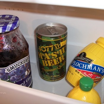 4077th M*A*S*H Beer Can Has Been in the Fridge Since 1984 - Breweriana