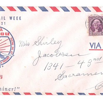 1939 San Francisco Bay World's Fair Cover - Stamps